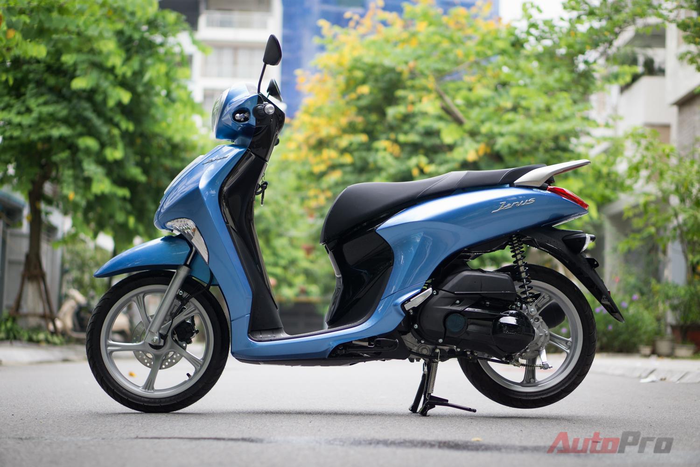 Chi tiết Yamaha Janus giá 27,5 triệu Đồng, cạnh tranh Honda Vision