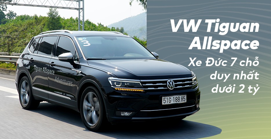 Chi tiết Volkswagen Tiguan Allspace 2018