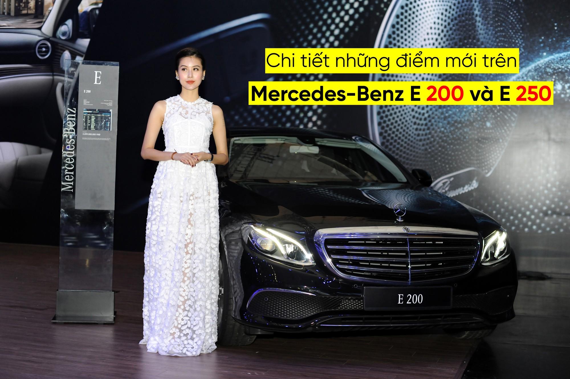Chi tiết những điểm mới trên Mercedes-Benz E 200 và E 250 2018