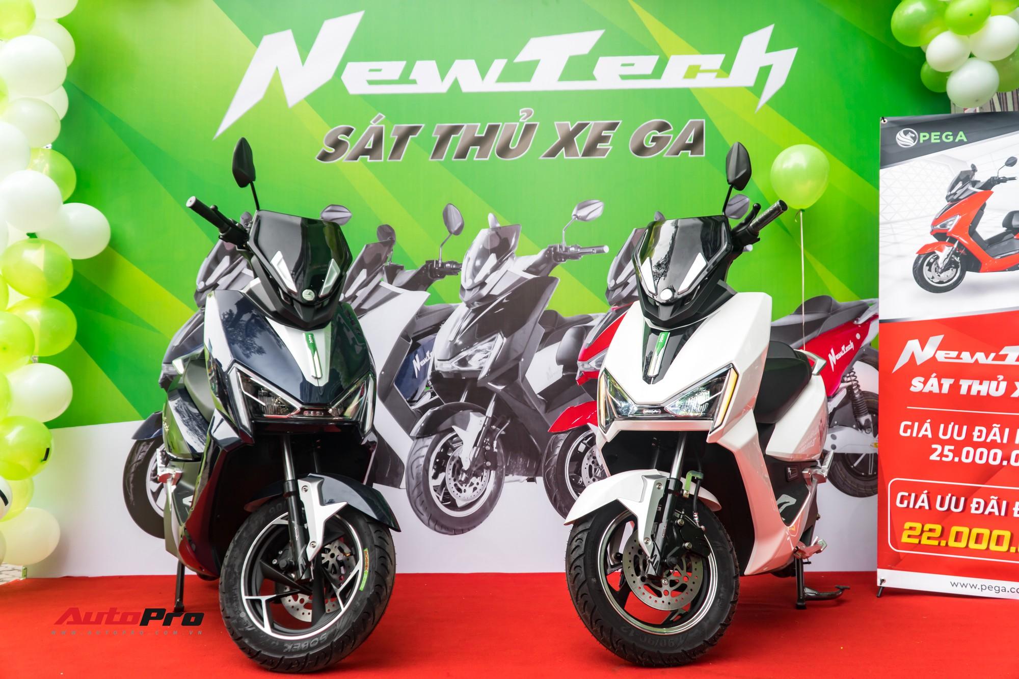 Nghe thử loa ngoài xe máy điện Pega Newtech mới ra mắt