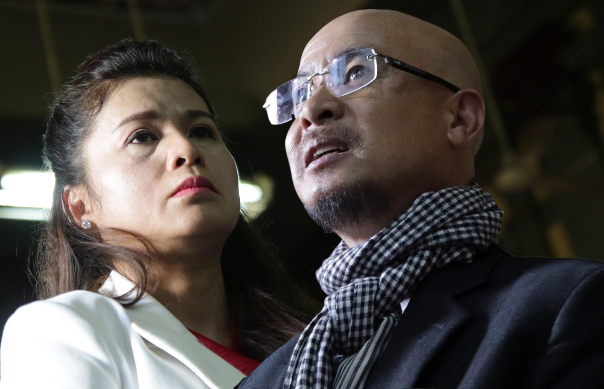 Vợ chồng ông chủ Tập đoàn cà phê Trung Nguyên tranh luận nảy lửa tại tòa.