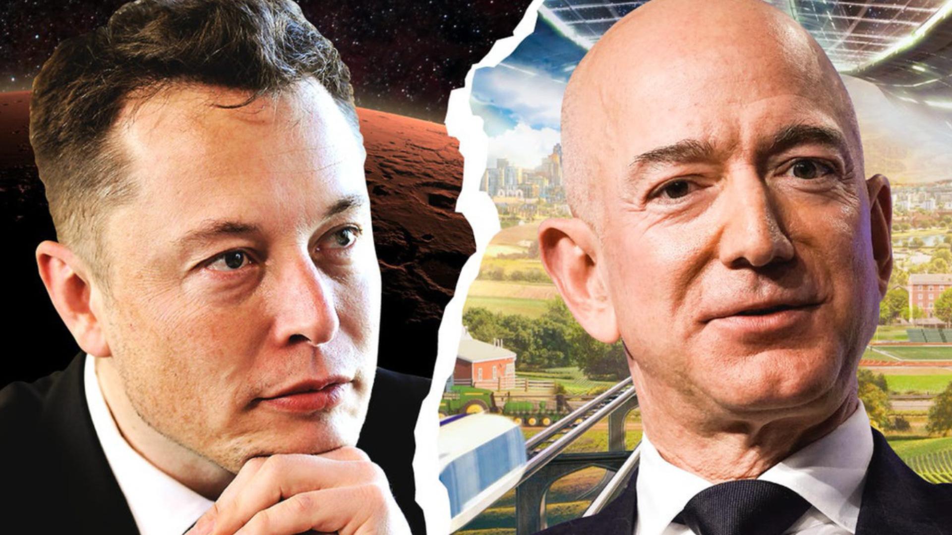 Tỉ phú Elon Musk và Jeff Bezos 'khẩu chiến' trong cuộc đua lên vũ trụ    Công nghệ   Thanh Niên