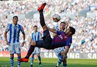 Ngược dòng hạ Sociedad, Barcelona tiếp tục toàn thắng ở La Liga