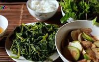 Mang ẩm thực thôn quê lên mạng xã hội