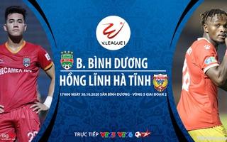 Bóng đá Việt Nam: Soi kèo nhà cái. Bình Dương vs Hà Tĩnh vòng 5 giai đoạn 2 V-League 2020