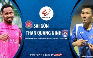 Bóng đá Việt Nam: Soi kèo nhà cái Sài Gòn vs Quảng Ninh vòng 5 giai đoạn 2 V-League 2020