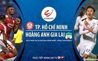 Bóng đá Việt Nam: Soi kèo nhà cái TPHCM vs HAGL vòng 5 giai đoạn 2 V-League 2020