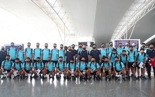 ĐTVN lên đường tới UAE với lời chúc chiến thắng và may mắn