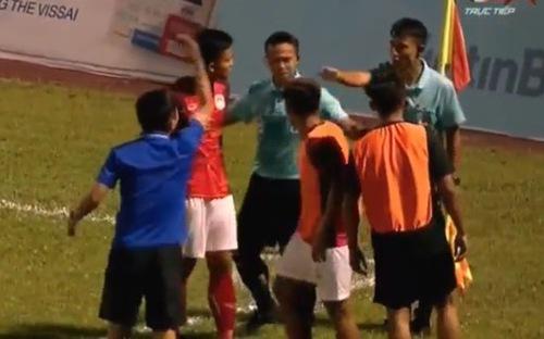 Xem lại bàn thắng không được công nhận khiến Phố Hiến tan mộng dự V-League