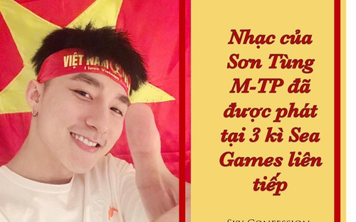 Nhạc của Sơn Tùng M-TP khuấy động 3 kỳ Sea Games liên tiếp