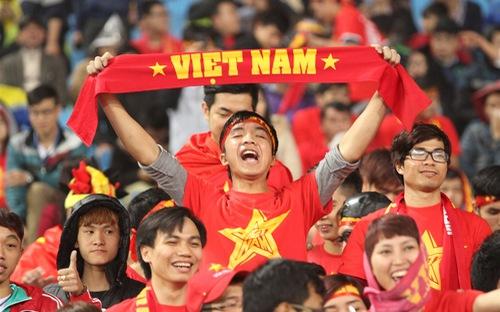 Hàng triệu con tim Việt Nam hướng về U22 Việt Nam