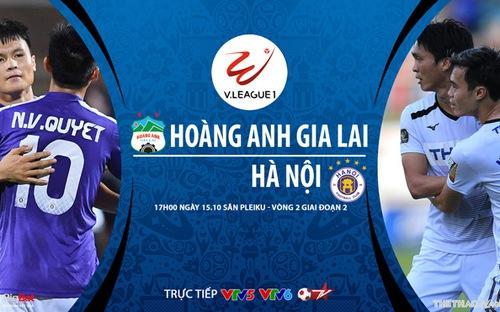 Bóng đá Việt Nam: Soi kèo nhà cái HAGL vs Hà Nội vòng 2 giai đoạn 2 V-League
