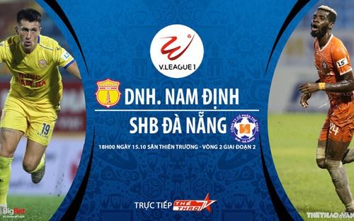 Bóng đá Việt Nam: Soi kèo nhà cái Nam Định vs Đà Nẵng vòng 2 giai đoạn 2 V-League