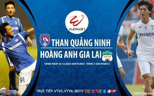 Bóng đá Việt Nam: Soi kèo nhà cái Quảng Ninh vs HAGL vòng 3 giai đoạn 2 V-League