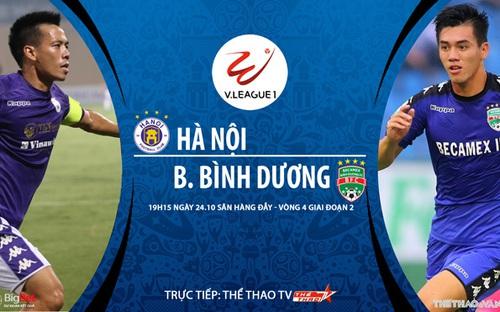 Bóng đá Việt Nam: Soi kèo nhà cái Hà Nội vs Bình Dương vòng 4 giai đoạn 2 V-League