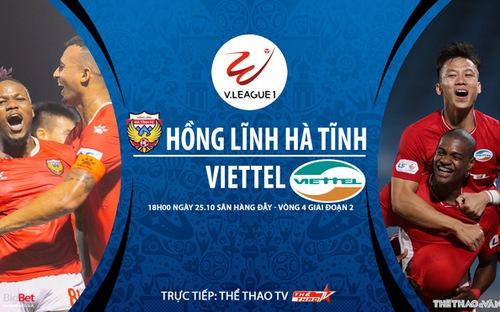 Bóng đá Việt Nam: Soi kèo nhà cái Hà Tĩnh vs Viettel vòng 4 giai đoạn 2 V-League