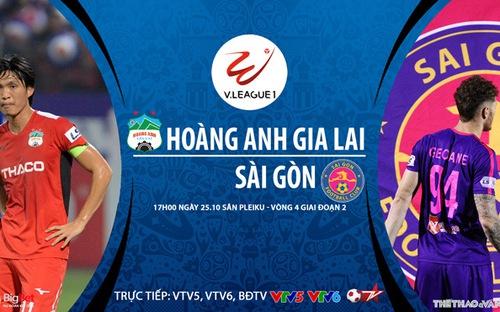 Bóng đá Việt Nam: Soi kèo nhà cái HAGL vs Sài Gòn vòng 4 giai đoạn 2 V-League