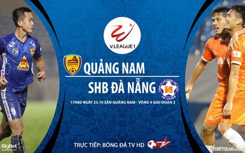 Bóng đá Việt Nam: Soi kèo nhà cái Quảng Nam vs Đà Nẵng vòng 4 giai đoạn 2 V-League