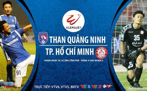 Bóng đá Việt Nam: Soi kèo nhà cái Quảng Ninh vs TPHCM vòng 4 giai đoạn 2 V-League
