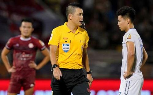 Trọng tài FIFA cầm còi 2 trận đấu quyết định của cuộc đua trụ hạng Vleague 2020