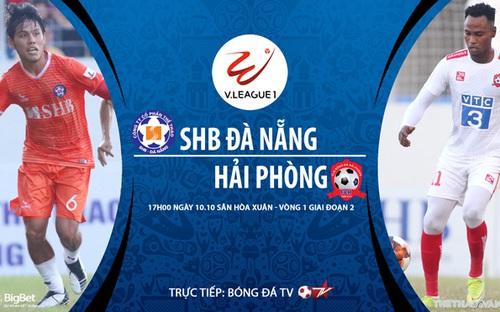 Bóng đá Việt Nam: Soi kèo nhà cái Đà Nẵng vs Hải Phòng vòng 1 giai đoạn 2 V-League