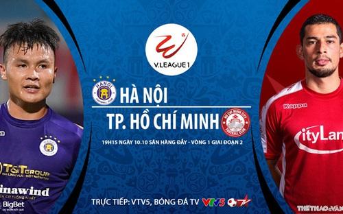 Bóng đá Việt Nam: Soi kèo nhà cái Hà Nội vs TPHCM vòng 1 giai đoạn 2 V-League