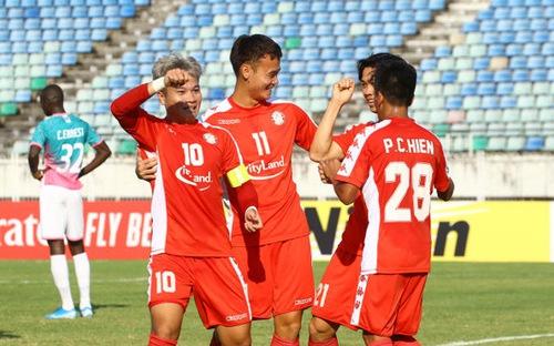 Yangon United 2-2 TPHCM: Công Phượng lập công, TPHCM thoát hiểm