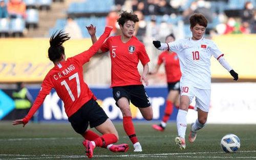 Nữ Việt Nam 0-3 Hàn Quốc: Lực bất tòng tâm
