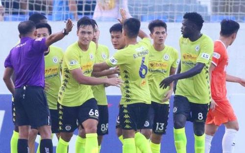 Bàn thắng và highlight Đà Nẵng 1-1 Hà Nội FC: Hà Nội nối dài chuỗi trận không thắng