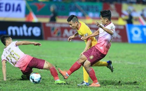 Soi kèo bóng đá Sài Gòn vs Nam Định. Trực tiếp bóng đá V-League 2020