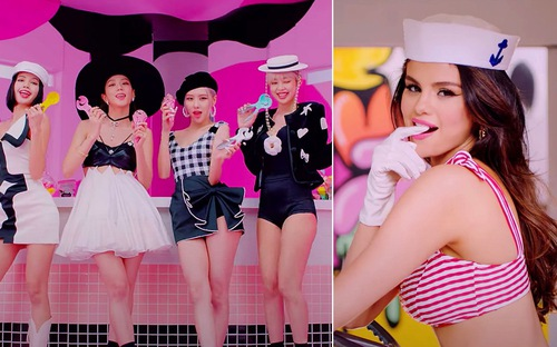 Selena Gomez giảm cân ngoạn mục, phô diễn body nuột nà trong hậu trường MV Ice Cream cùng BLACKPINK