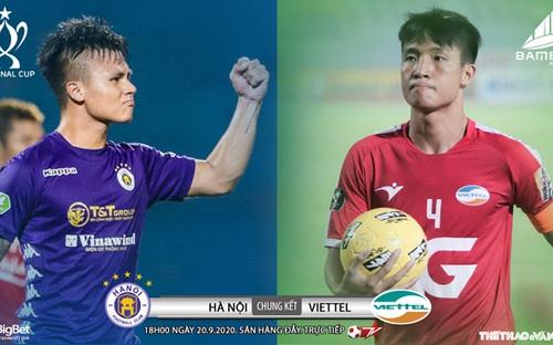 Bóng đá Việt Nam: Soi kèo chung kết Cúp Quốc gia Hà Nội đấu với Viettel