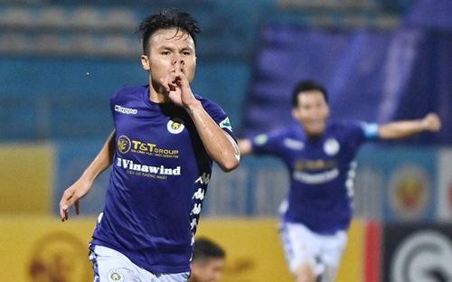 Bóng đá Việt Nam: Quang Hải tỏa sáng, Hà Nội đủ sức vô địch V-League