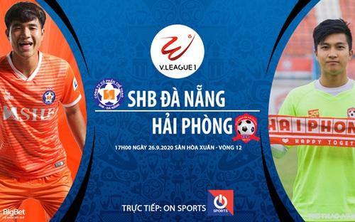 Bóng đá Việt Nam: Soi kèo bóng đá Đà Nẵng vs Hải Phòng vòng 12 V-League 2020