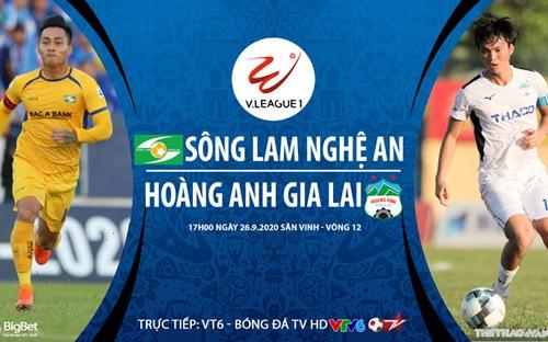 Bóng đá Việt Nam: Soi kèo bóng đá SLNA vs HAGL vòng 12 V-League 2020