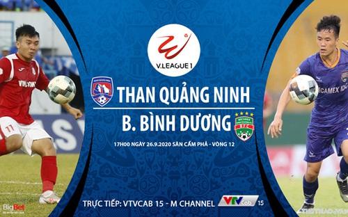 Bóng đá Việt Nam: Soi kèo bóng đá Quảng Ninh vs Bình Dương vòng 12 V-League 2020