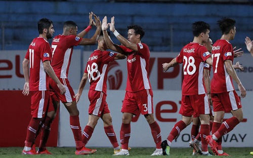 Bàn thắng và highlight Viettel 2-1 SHB Đà Nẵng: Vỡ òa phút bù giờ