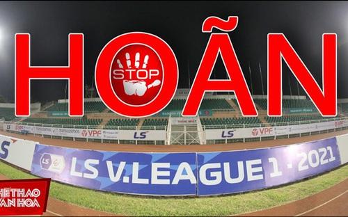 Hoãn vòng 13 V-League vì Covid-19