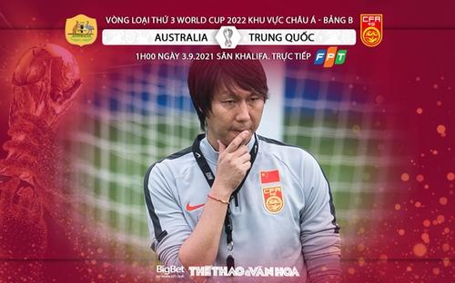 Nhận định bóng đá Australia vs Trung Quốc, vòng loại World Cup 2022 (01h00, 3/9)