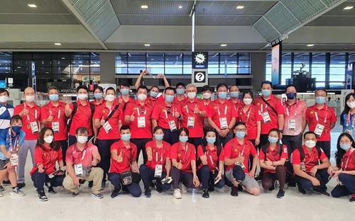 Đoàn TTVN về nước, chia tay Olympic Tokyo